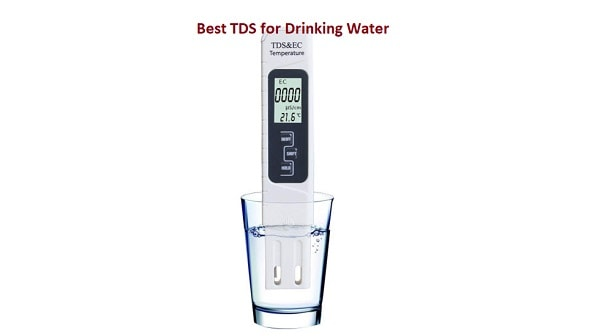 Water TDS Level for Drinking Purpose